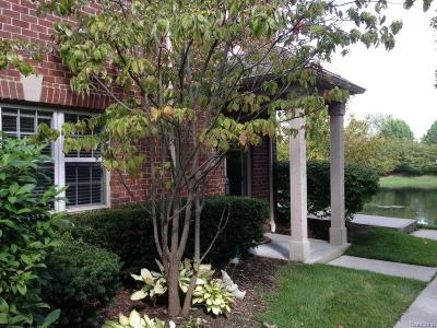 Northville Condo/Townhouse For Sale: 39492 Rockcrest Lane