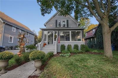 Plymouth Single Family Home For Sale: 266 Blunk Street