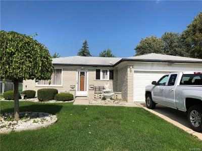 STERLING HEIGHTS Single Family Home For Sale: 2813 Franklin Park Drive