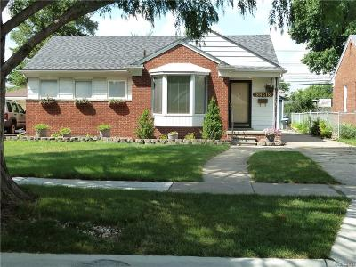 Livonia MI Single Family Home For Sale: $154,900