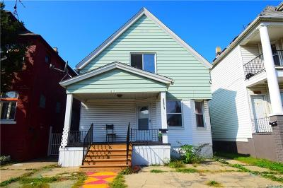 Hamtramck Single Family Home For Sale: 2671 Belmont Street