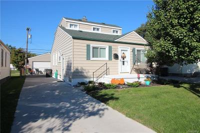 Brownstown Twp, Flat Rock, Riverview, Rockwood Single Family Home For Sale: 17146 Valade Street