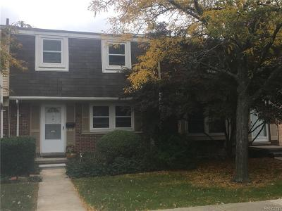 Troy Condo/Townhouse For Sale: 5129 Buckingham #393