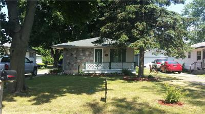 Single Family Home For Sale: 6700 Saline Drive