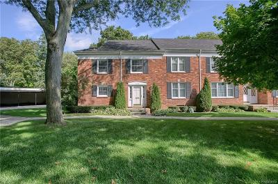 Bloomfield Twp Condo/Townhouse For Sale: 1260 Trailwood Path