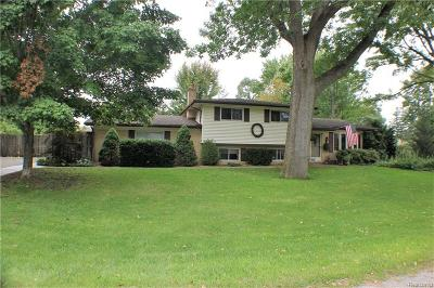 Shelby Twp MI Single Family Home For Sale: $229,900