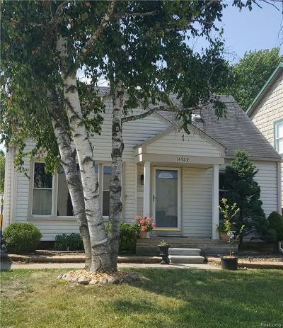 Southgate Single Family Home For Sale: 14569 Superior Street