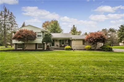 NOVI Single Family Home For Sale: 23905 Woodham