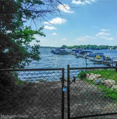 Walled Lake Residential Lots & Land For Sale: Vac Arvida Street
