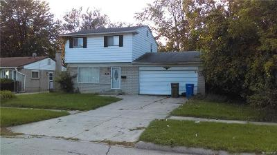 Inkster MI Single Family Home For Sale: $42,000