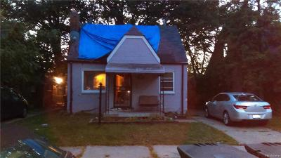 Detroit MI Single Family Home For Sale: $30,000