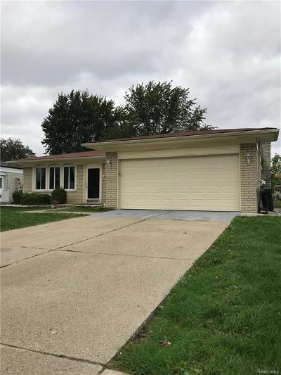 STERLING HEIGHTS Single Family Home For Sale: 3675 Jennifer Drive