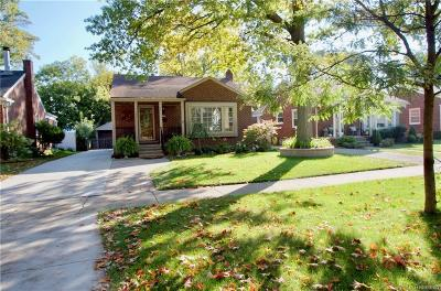 Birmingham Single Family Home For Sale: 1193 S Eton Street