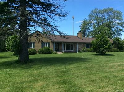 Washington Twp Single Family Home For Sale: 62115 Jewell Road