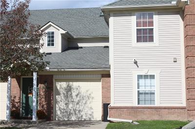 Macomb Twp Condo/Townhouse For Sale: 45645 Cagney Drive