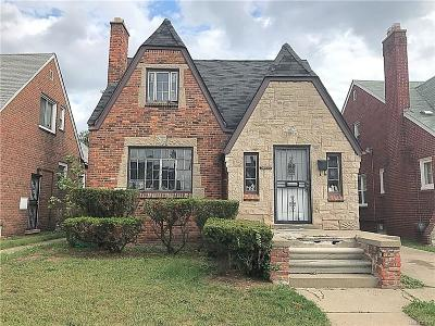 Detroit Single Family Home For Sale: 17200 Hartwell Street