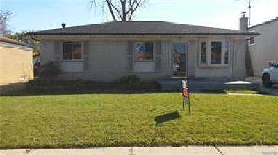 Clinton Twp Single Family Home For Sale: 34356 Pennsylvania Street