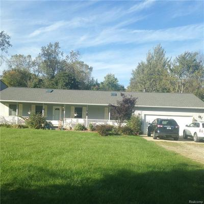 Flat Rock Single Family Home For Sale: 24008 Huron River