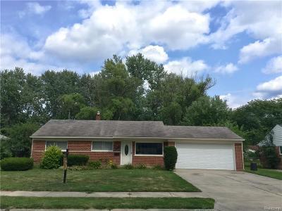 Southfield Single Family Home For Sale: 28070 Stuart