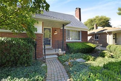 Royal Oak Single Family Home For Sale: 2507 Woodland Avenue