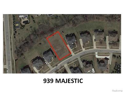 Rochester Hills Residential Lots & Land For Sale: 939 Majestic Lot #21