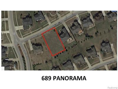 Rochester Hills Residential Lots & Land For Sale: 689 Panorama Lot #87