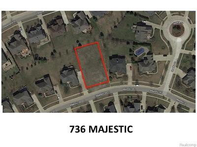 Rochester Hills Residential Lots & Land For Sale: 736 Majestic Lot #60