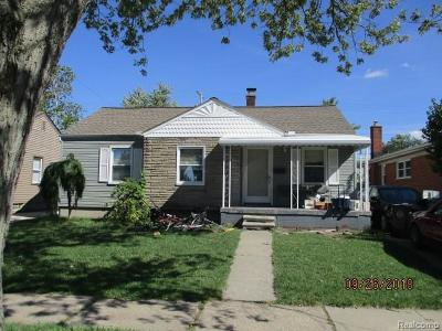 Southgate Single Family Home For Sale: 12693 Agnes Street