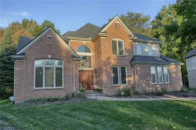 West Bloomfield Twp Single Family Home For Sale: 6517 Roseberry Circle