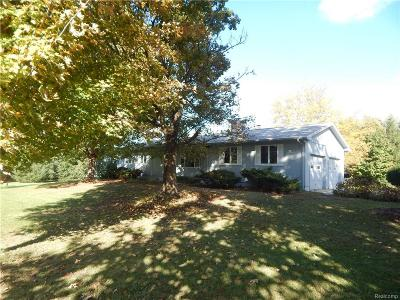 Lima Twp MI Single Family Home For Sale: $595,000