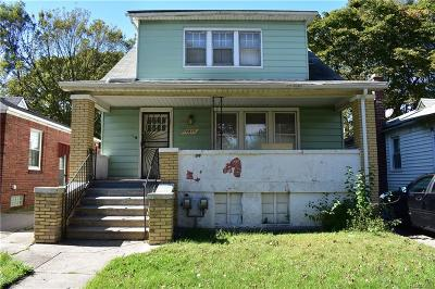 Detroit Single Family Home For Sale: 18855 Keystone Street