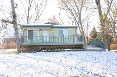 Wolverine Lake Vlg Single Family Home For Sale: 1295 Lakeview