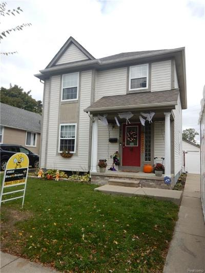 Ferndale Single Family Home For Sale: 1924 Romeo Street