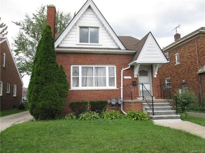 Detroit Single Family Home For Sale: 5937 Whittier