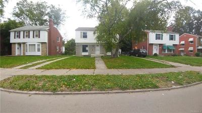Detroit Single Family Home For Sale: 16560 Evergreen Road