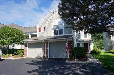 Bloomfield Twp Condo/Townhouse For Sale: 1937 Eagle Pointe