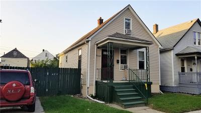 Hamtramck Single Family Home For Sale: 3917 Norwalk Street
