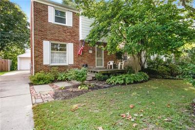 Royal Oak Single Family Home For Sale: 423 W Webster Road