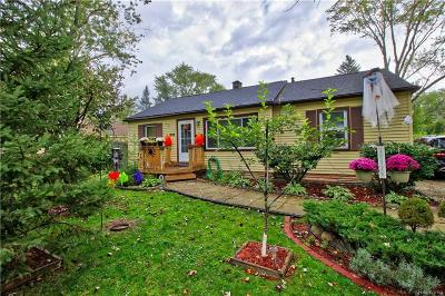 Southfield Single Family Home For Sale: 30126 Everett Street