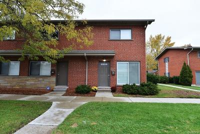 Royal Oak Condo/Townhouse For Sale: 3800 Normandy Road #7