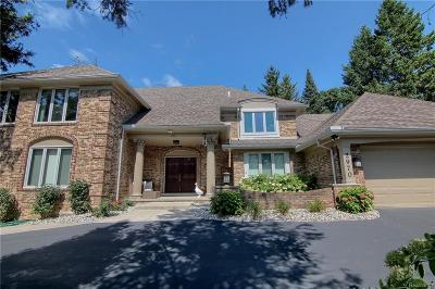 West Bloomfield, West Bloomfield Twp Single Family Home For Sale: 2970 Bloomfield Park Drive