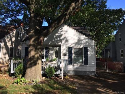 Ferndale,  Royal Oak, Berkley Single Family Home For Sale: 2918 N Main Street