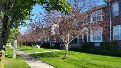 Sterling Heights Condo/Townhouse For Sale: 43035 Strand Drive