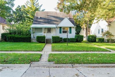 Dearborn, Dearborn Heights Single Family Home For Sale: 23043 Columbia Street