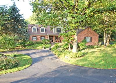 Lake Orion, Orion Twp, Clarkston, Independence Twp, Oxford Single Family Home For Sale: 5328 Ridge Trail