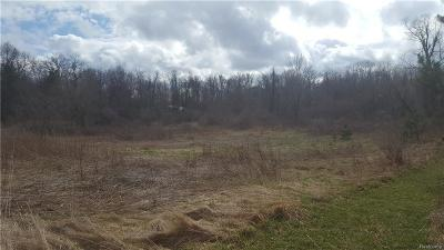 Addison Twp Residential Lots & Land For Sale: Lake George Road N