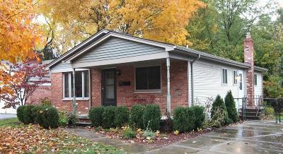 Royal Oak Single Family Home For Sale: 3806 N Main Street
