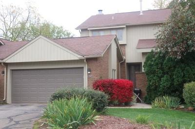 West Bloomfield Twp Condo/Townhouse For Sale: 5549 Walnut Circle E