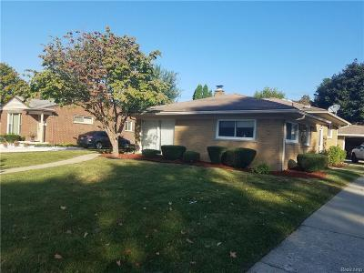 Livonia Single Family Home For Sale: 27630 Bentley