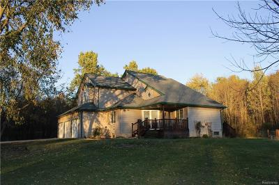 Brandon Twp Single Family Home For Sale: 181 Holly Hock Lane